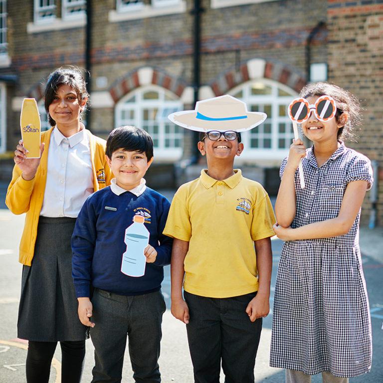 Changing behaviours around sun safety