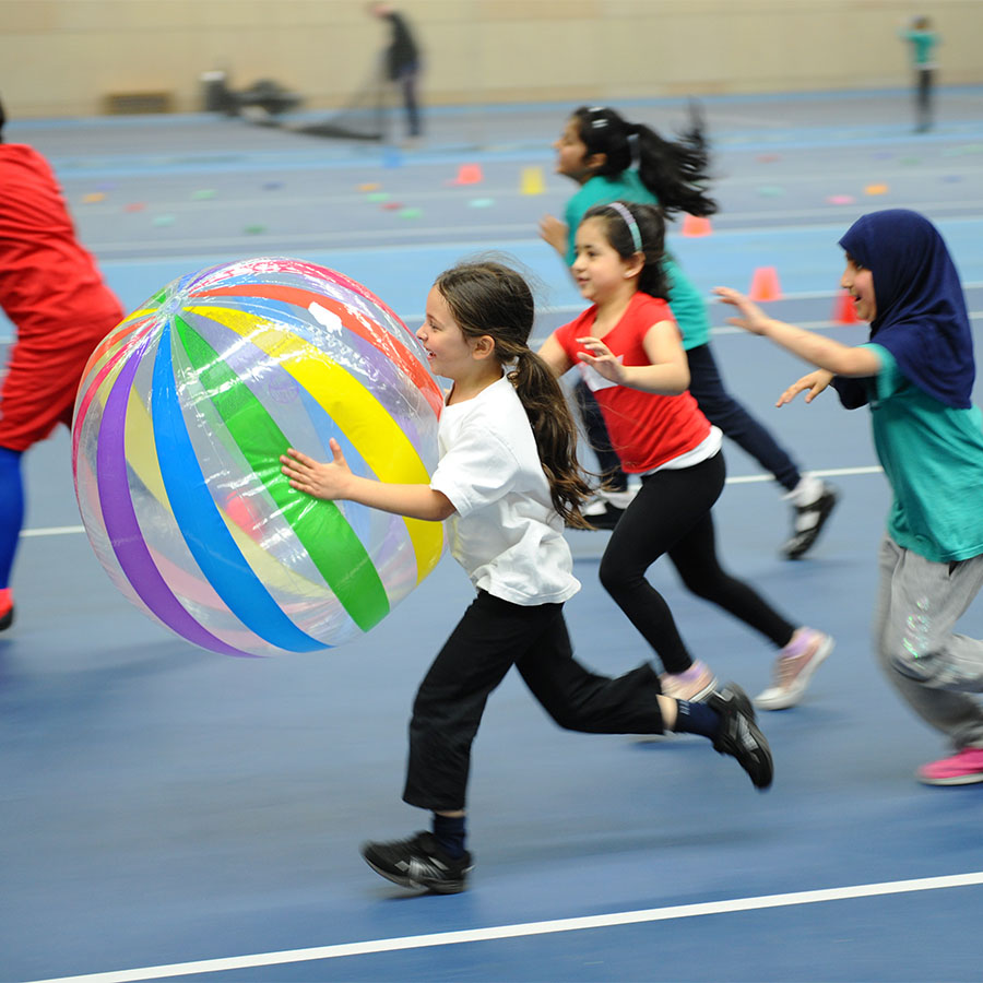 Over 100 young people get active to launch Travel to Tokyo